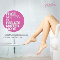 SPECIAL OFFERS: Laser Hair Removal for Women & Men | Corpofino