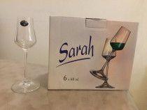 Liqueur Glass - Set of 6 pieces  (6x60ml). Made in Czech Republic