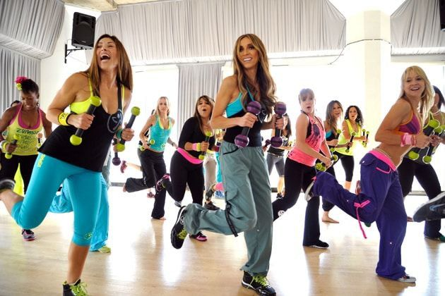 Special Offers On Zumba Classes for Ladies Only in Al Mushrif | Dolphin Sports Academy
