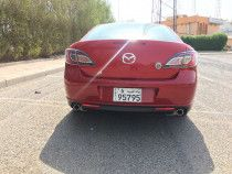 red Mazda 6 For Sale 4 cylinders Kuwait