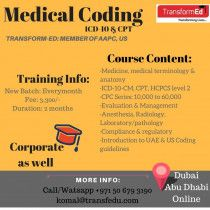 Medical Coding ICD-10 & CPT Training in Dubai