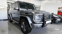 Mercedes-Benz G 500 For Sale In Abu Dhabi - 2014 - Grey Model .