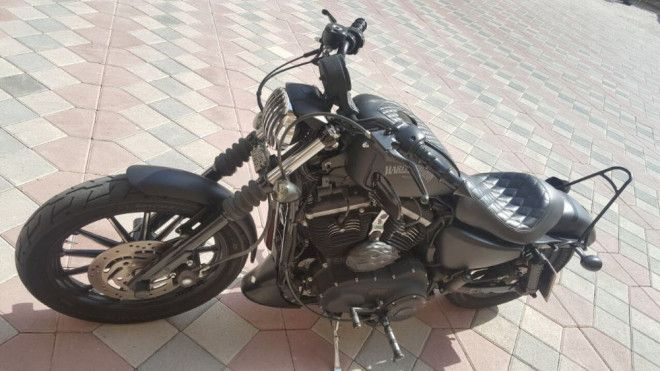 perfect condition sportster harley davidson 833 matte black