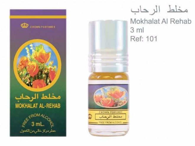 concentrated oil perfume for sale in UAE - Mohalat Al_Rehab 3ml