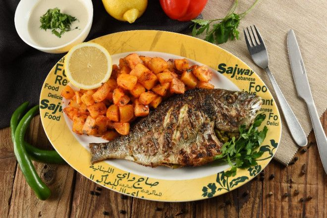 Monday - Grilled/Fried Fish