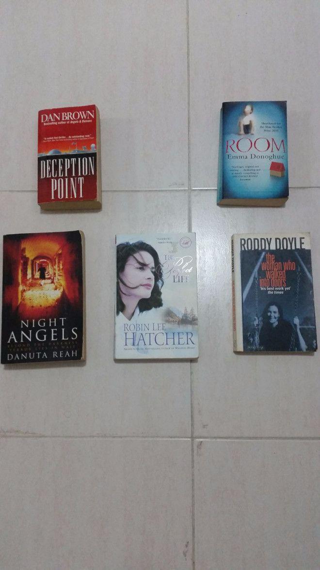 English Novels For Sale in Sharjah UAE