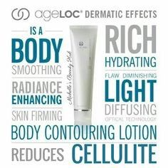 Nu Skin ageLOC Dermatic Effects Body Lotion