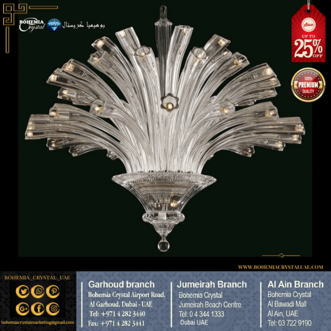 Quality Bohemia Crystal Modern Chandelier Available For Sale In Dubai