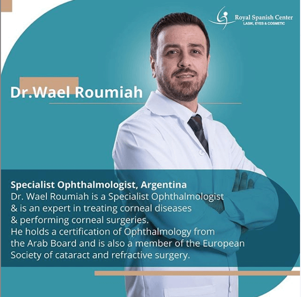 Special Offer on PRK Laser Vision Correction in Abu Dhabi with Dr. Wael Roumaih at Royal Spanish Center