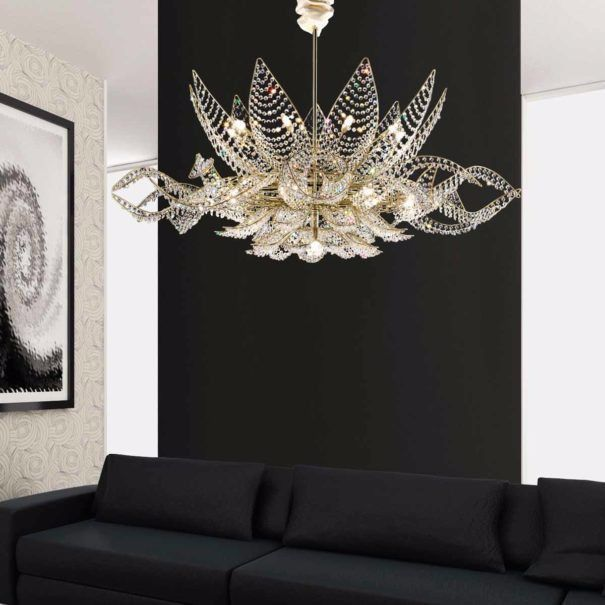 Quality Bohemia Crystal Custom Made Modern Chandelier For Sale In ...