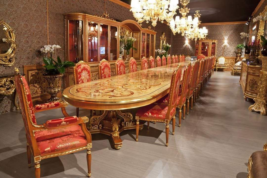 Pure italian dining sets tables in abu dhabi at best