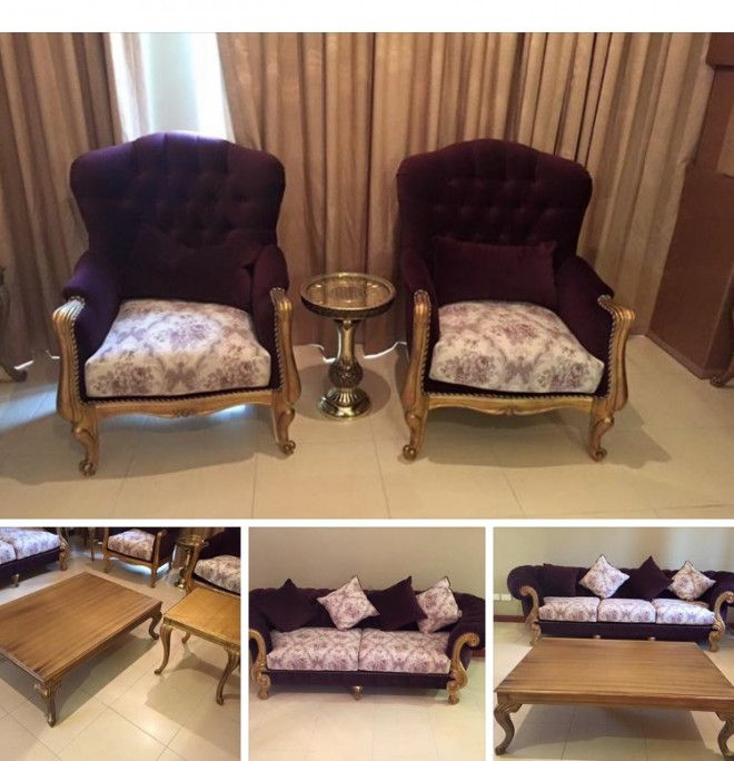 Selling 7000 Victoria Sofa Set With Center U0026 Side Tables