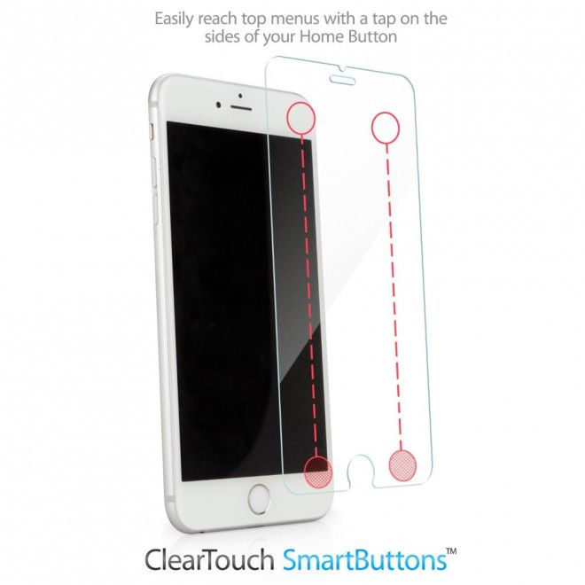 Smart Screen Protector for (iPhone 6/6plus & 7/7plus) with Back Button for sale
