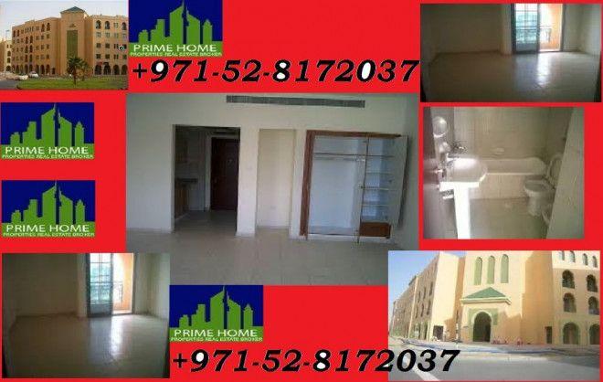 شقة استوديو للإيجار في مجمع المغرب في دبي