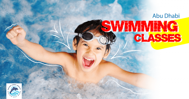 Swimming Classes For Children and Adults in Al Mushrif | Dolphin Sports Academy