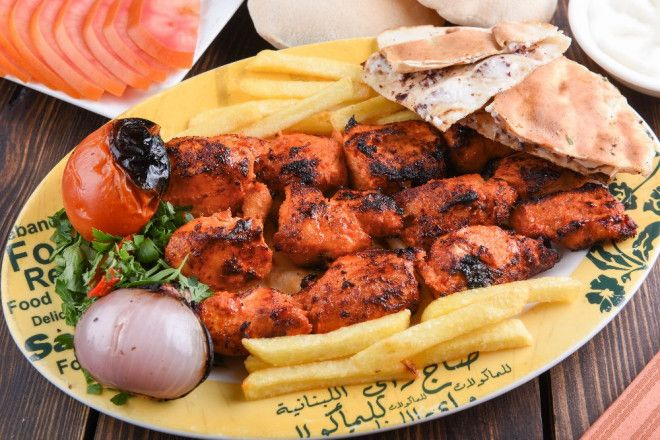 Taouk Chicken Dish