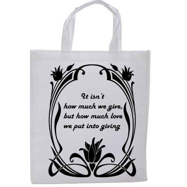 tote gift bag for ceremony, marriage, party