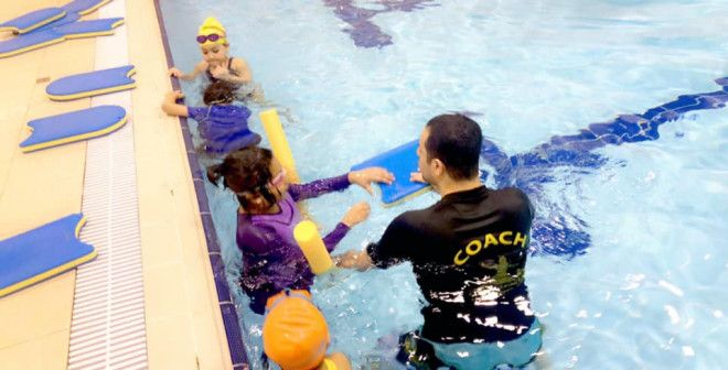 Upto 30% Discounts On Swimming Lessons For Kids in Al Manaseer | Al Qemah Sports Academy