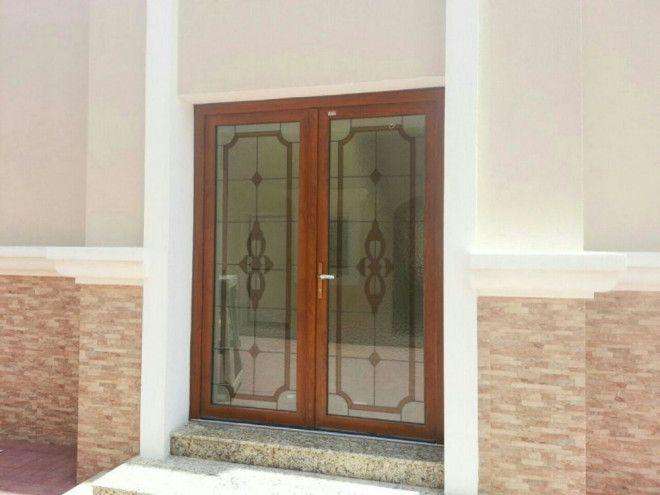 UPVC Custom Door Design Turkish & German Origin - Pure Italian Abu Dhabi