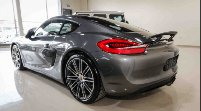 Used Grey Porsche Cayman For Sale In Abu Dhabi - 2015 Model