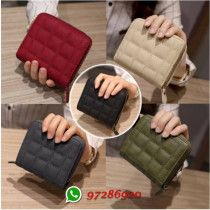 Woman Leather wallet / Coin Purse / 5 colors