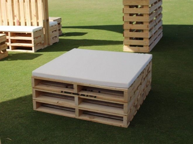 dubai wooden pallets for parties and events