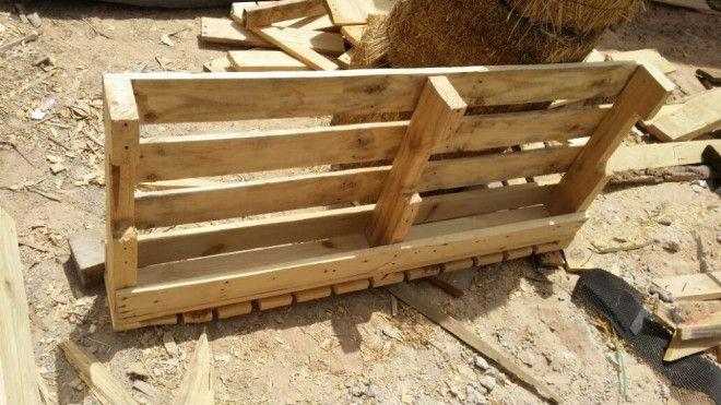 Wooden Pallets Shelfs For Sale In Dubai