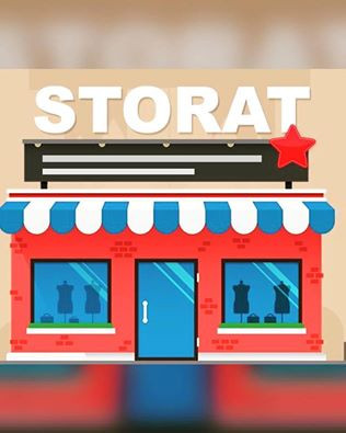 Storat.com will help you build a website with business email on your domain with unlimited marketplace reach