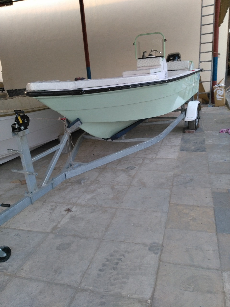 BOATS & BOAT TRAILERS - We manufacture to international standards. Ajman UAE
