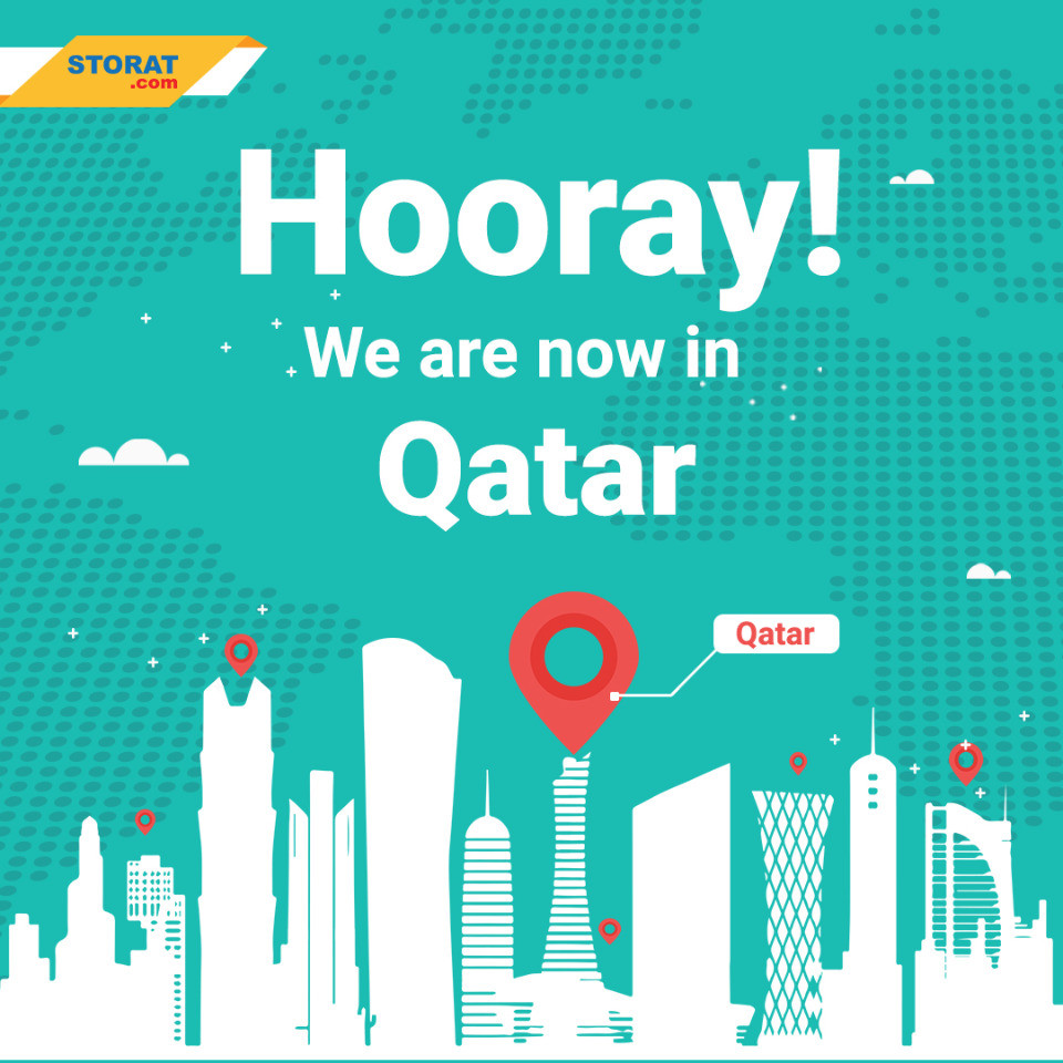 Guess What? Storat.com is finally available in Qatar!