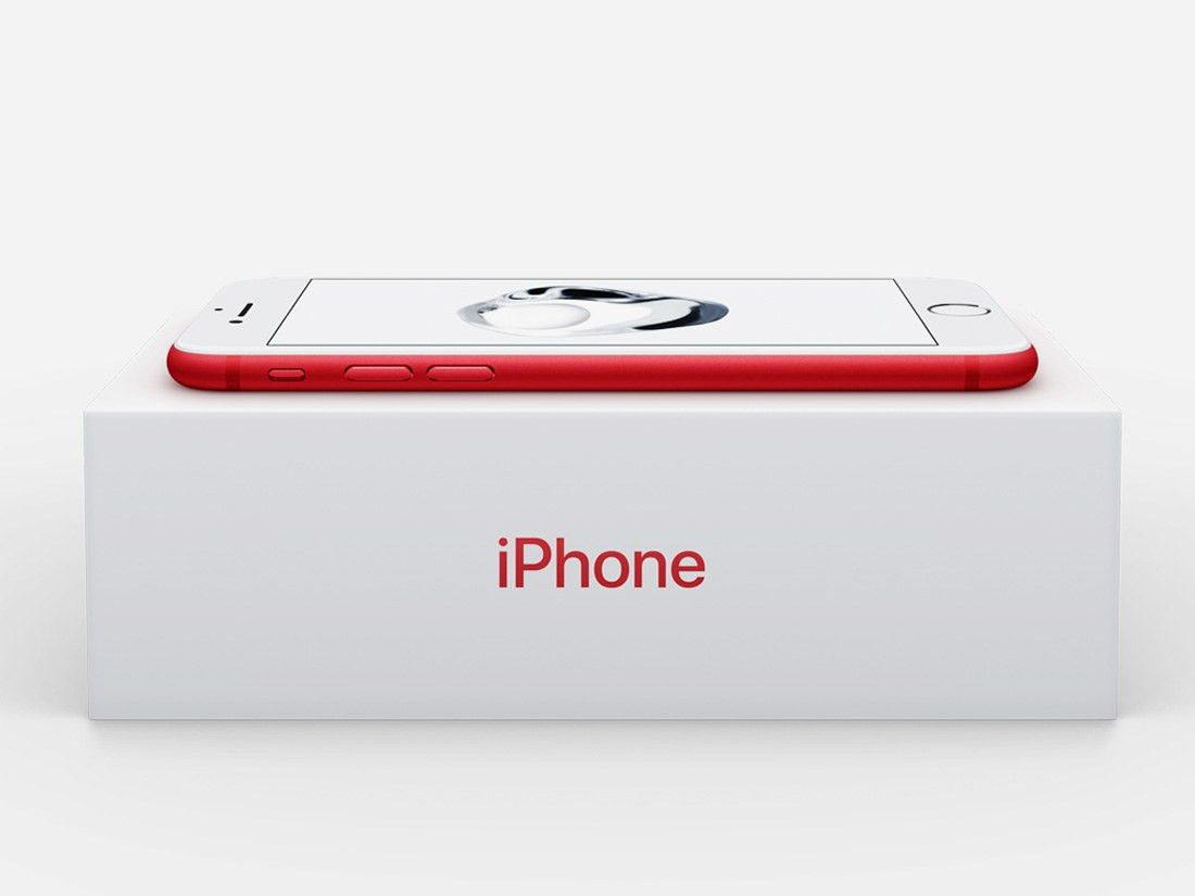 A New Red iPhone 7 Special Edition