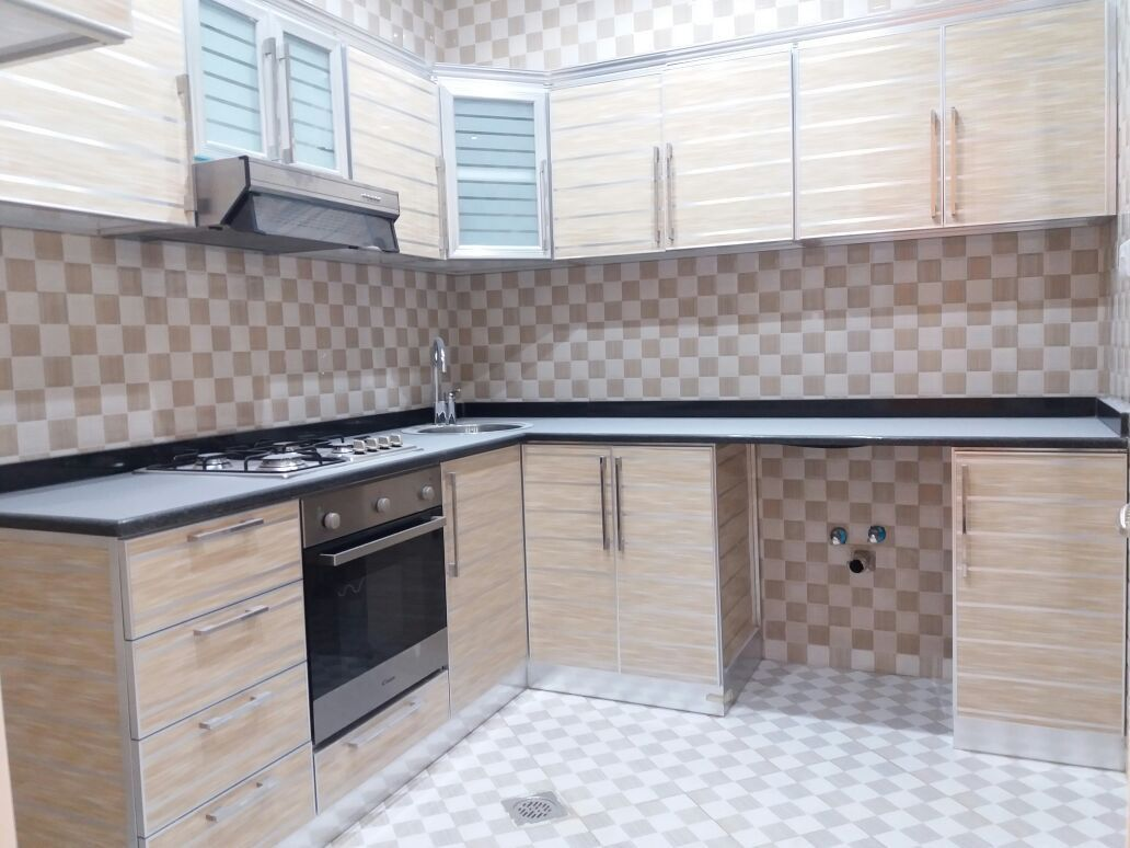 NICE TWO BEDROOM MULHUQ WITH SEPARATE INTERANCE IN KHALIFA CITY A  PRICE IS 74K