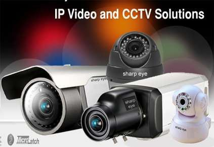Security Cameras CCTV Available