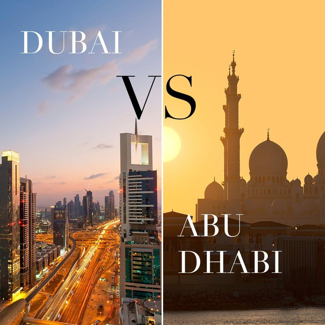 Setting a business in Dubai Vs Abu Dhabi - UAE