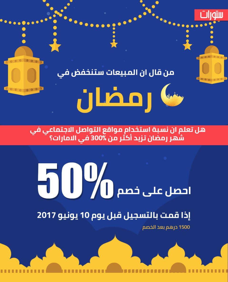 من قال ان المبيعات ستنخفض في رمضان؟