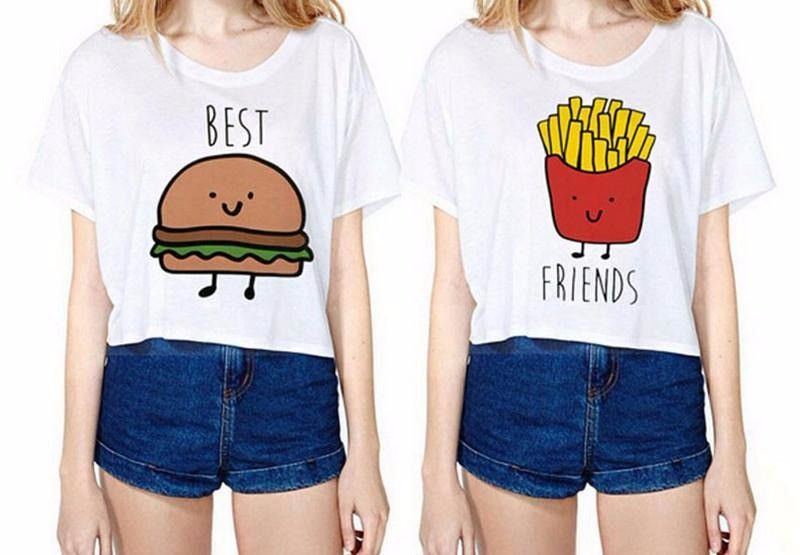 Customised T-shirts Ideas That Would Surely Melt Your Best Friends Heart