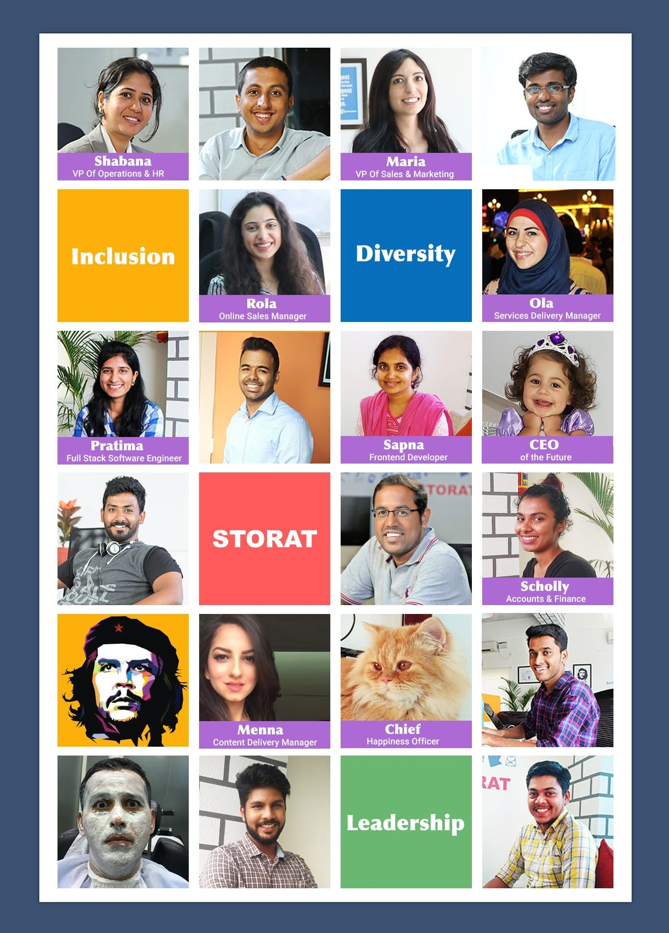 Celebrating Women Entrepreneurs & Leadership in the Middle East Tech startups. Storat achieves 50% diversity