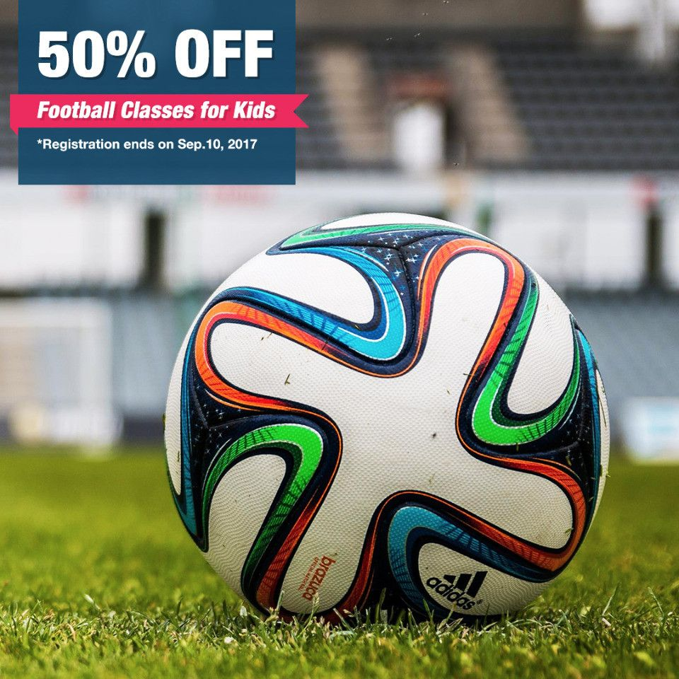 50% Discount on Football Classes for Kids in Abu Dhabi