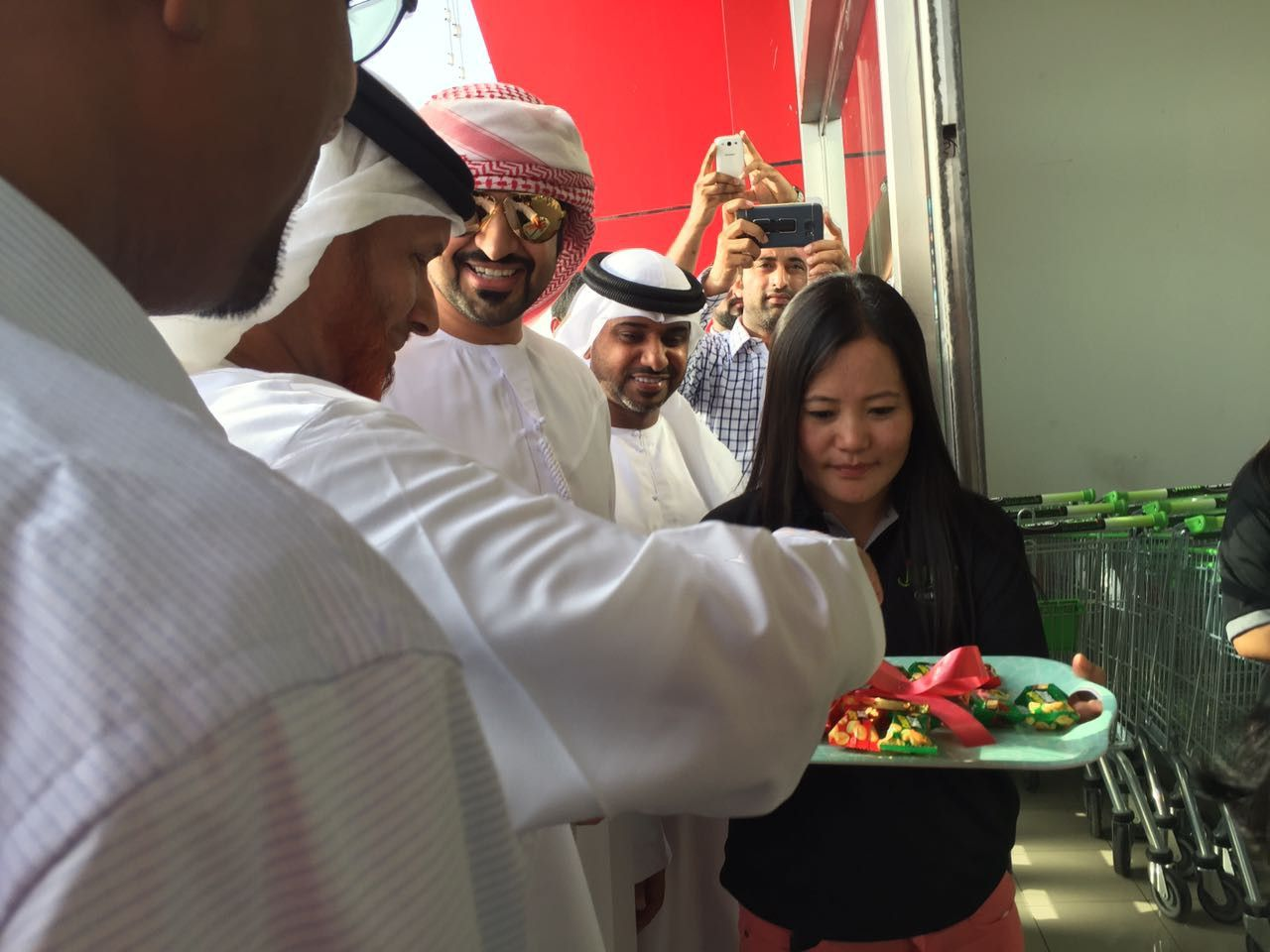 Grand Opening of Jumla Express Trading in Abu Dhabi