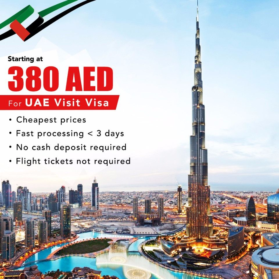 Avail up to 15% off on UAE Visit Visa Services at Heliopolis Travel, Abu Dhabi