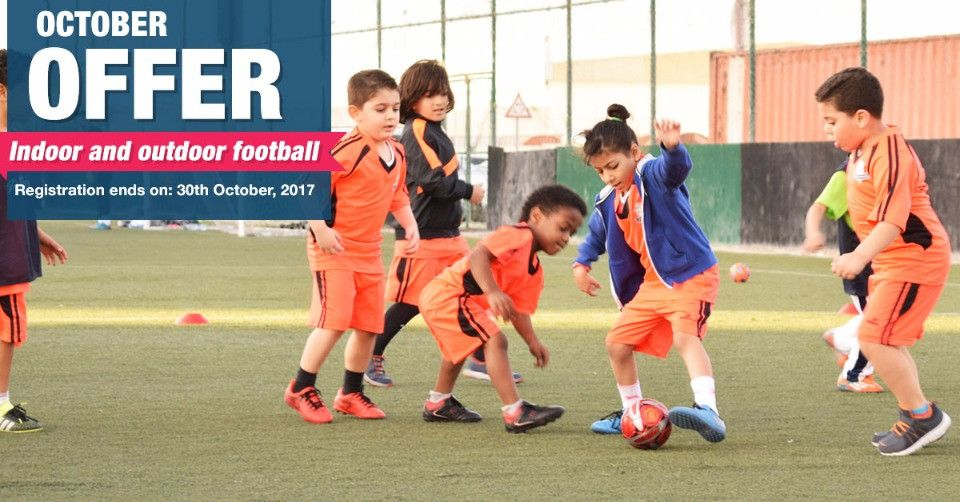 October Offer - Discounts on Indoor and Outdoor Football Lessons in Abu Dhabi