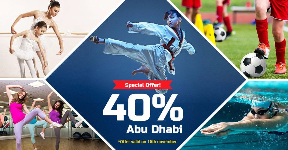 Special Offer on All Activities at Abu Dhabi Branches