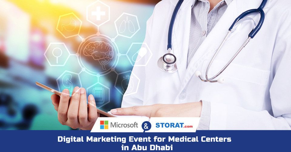 Lunch & Learn Digital Marketing Event for Abu Dhabi Hospitals & Medical Centers