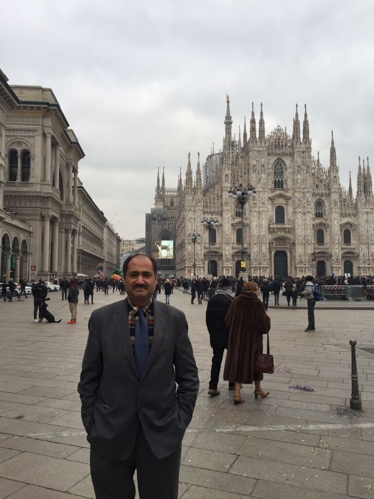 Dr. Nidal's Visit to Milano, Italy at IBSA's Global Anti-Aging Strategy