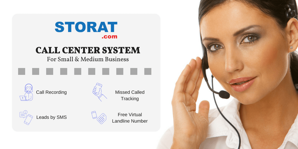 Storat Call Center Solution is released for small & medium businesses