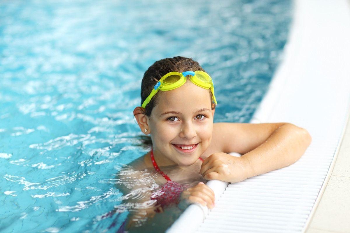 Swimming for fun