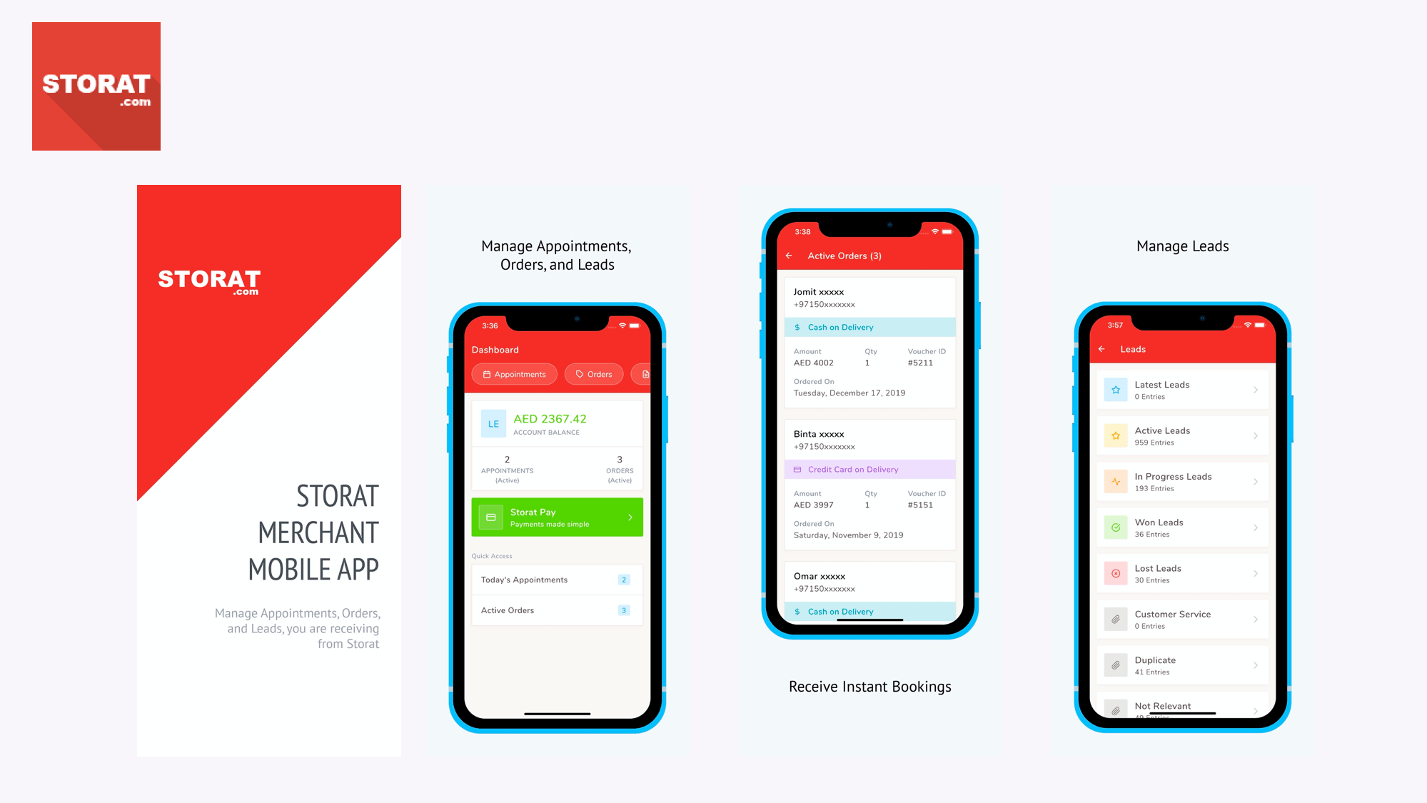 Storat releases the Merchant Mobile App