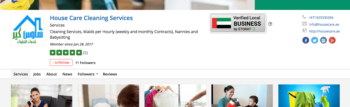 UAE Verified Local Business