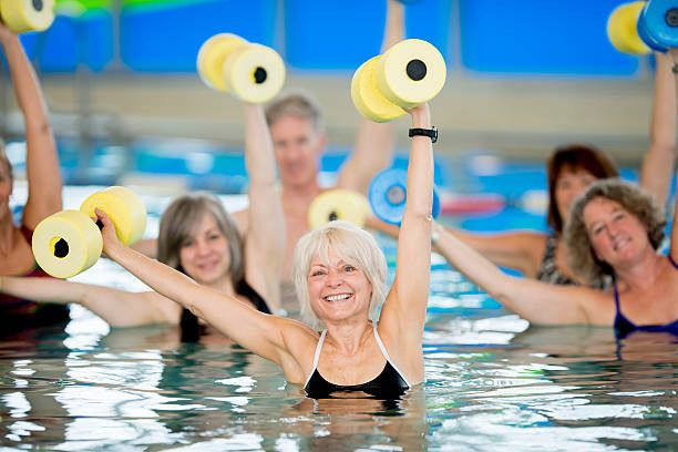 aqua aerobics for women in Abu Dhabi