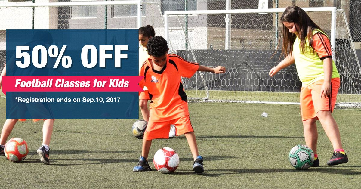 Football Classes for Kids in Abu Dhabi